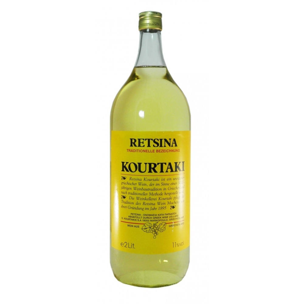 Retsina Kourtaki 2 Liter