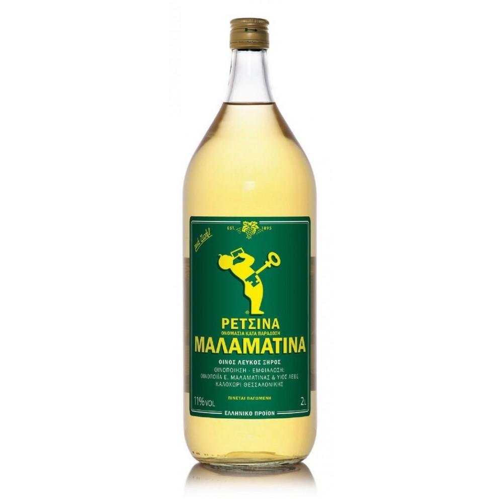Retsina Malamatina 2 Liter