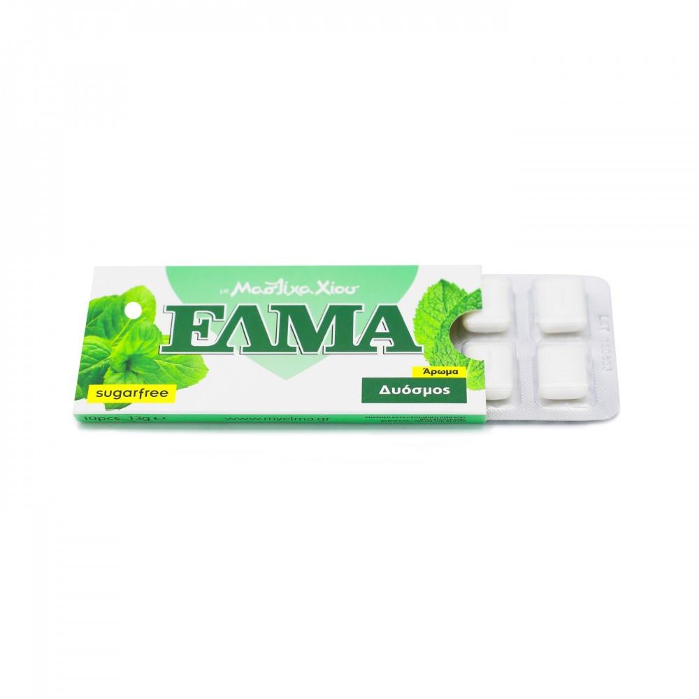 ELMA Minze Mastix-Kaugummi