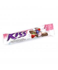 Kiss Schokoriegel mit Erdbeer-Füllung