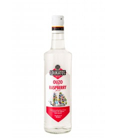 Ouzo Loukatos Raspberry 38% 0,2L