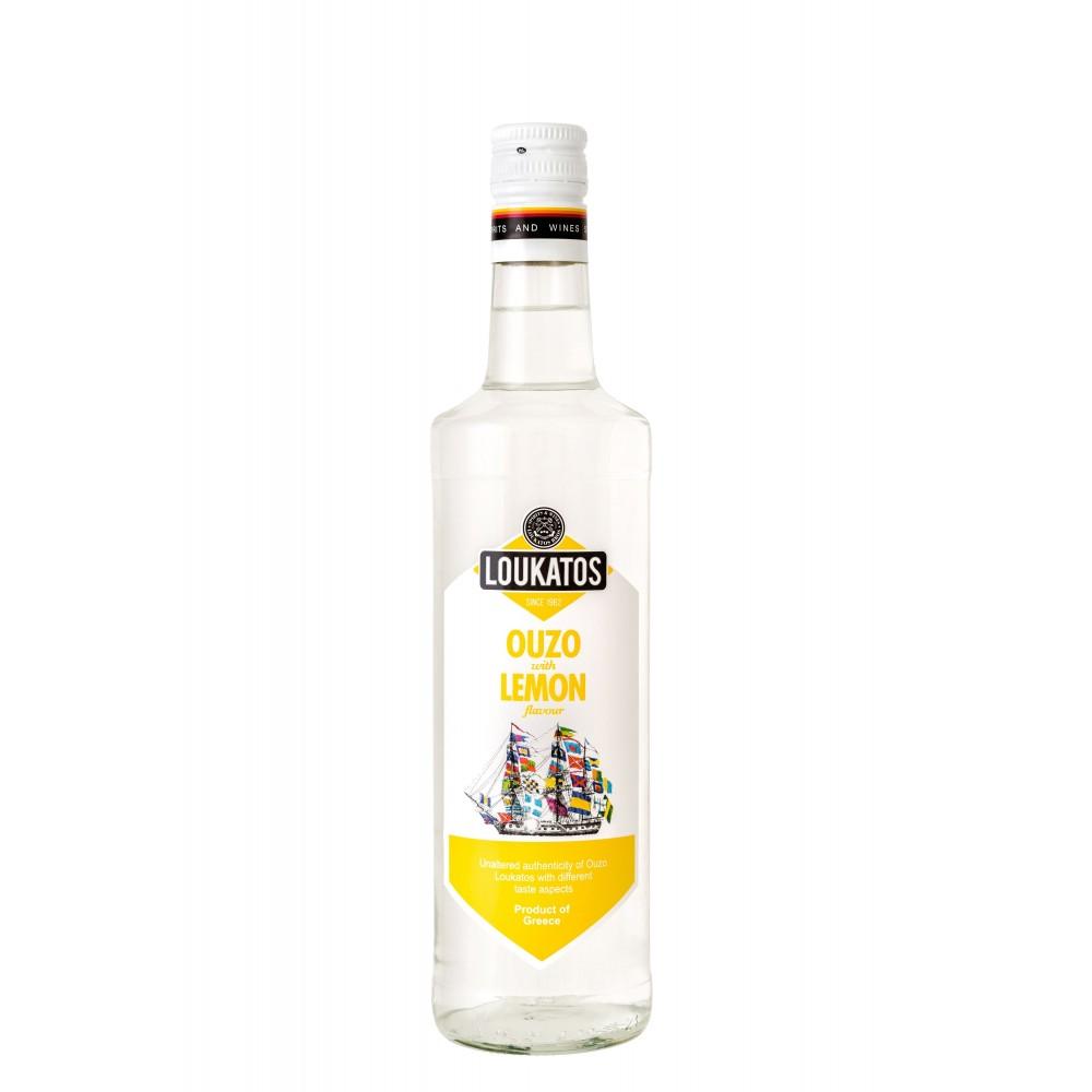 Ouzo Loukatos Lemon 43% 0,2L