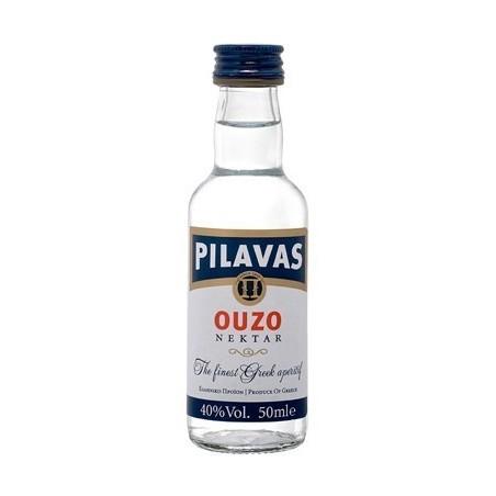 Ouzo Pilavas Mini 40% 50ml