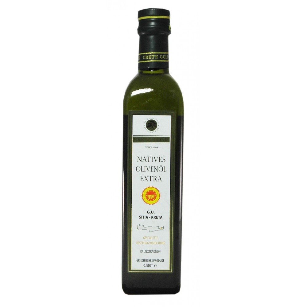 3233 Kreta Food Ltd  Sitia Crete Gold Natives Olivenöl Extra 0,5L