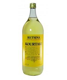 2501 D. Kourtakis S.A.  Retsina Kourtaki 2 Liter