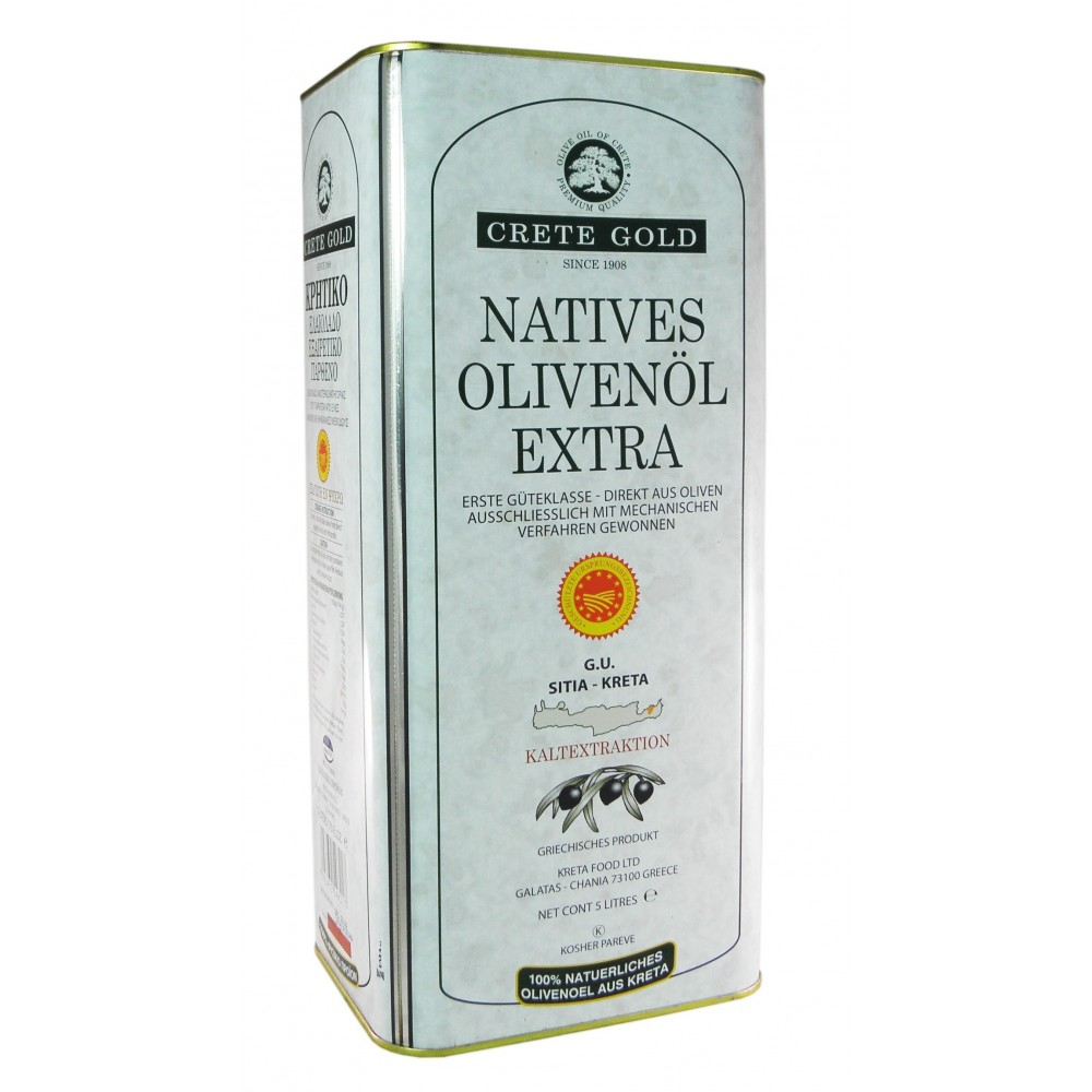 2945 Kreta Food Ltd  Sitia Crete Gold Natives Olivenöl Extra 5L