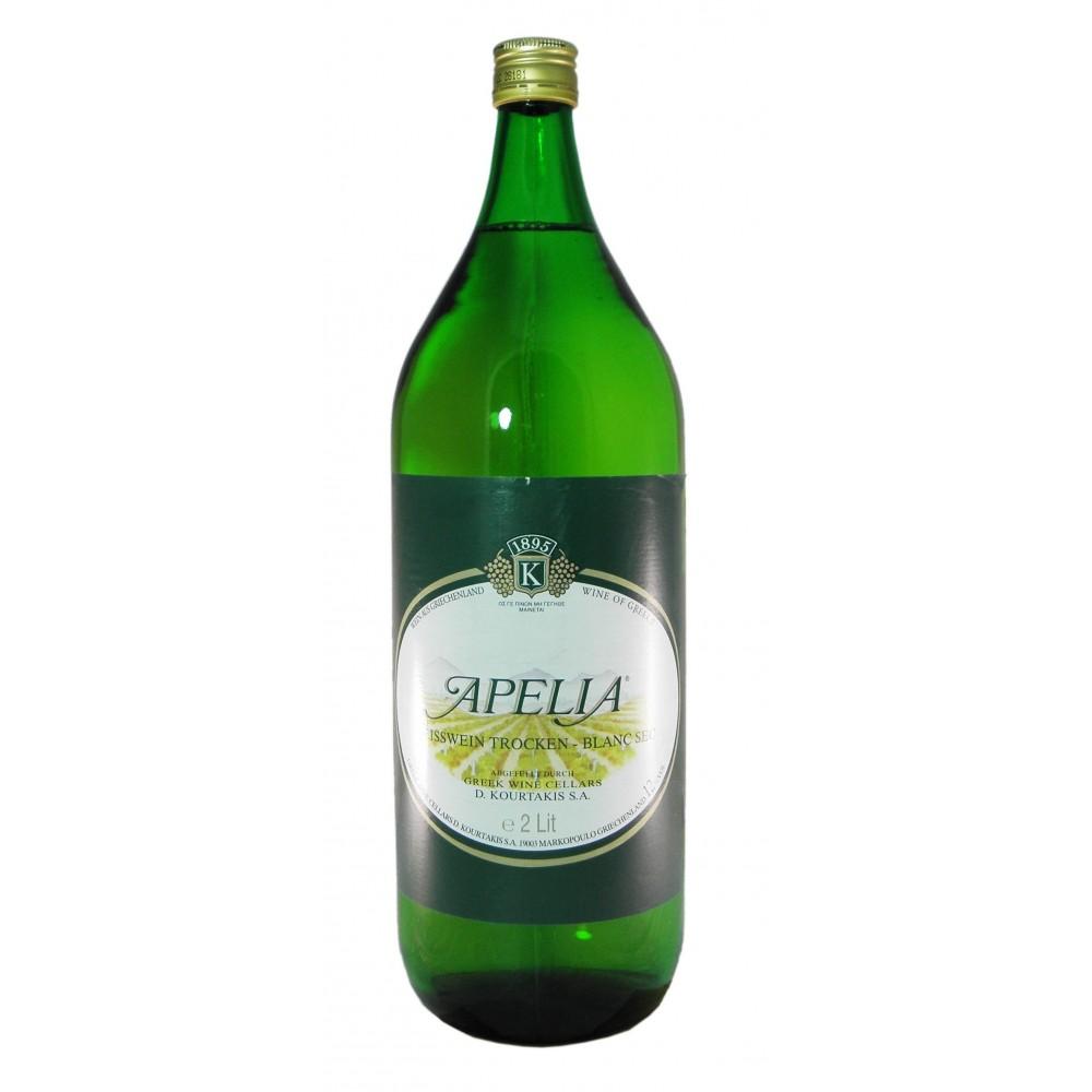 2795 D. Kourtakis S.A.  Apelia Weißwein 2 Liter