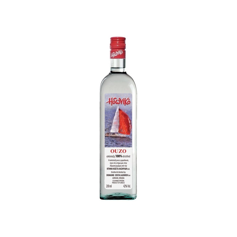 3789 Domaine Costa Lazaridi  Ouzo Idoniko 40% 0,2L