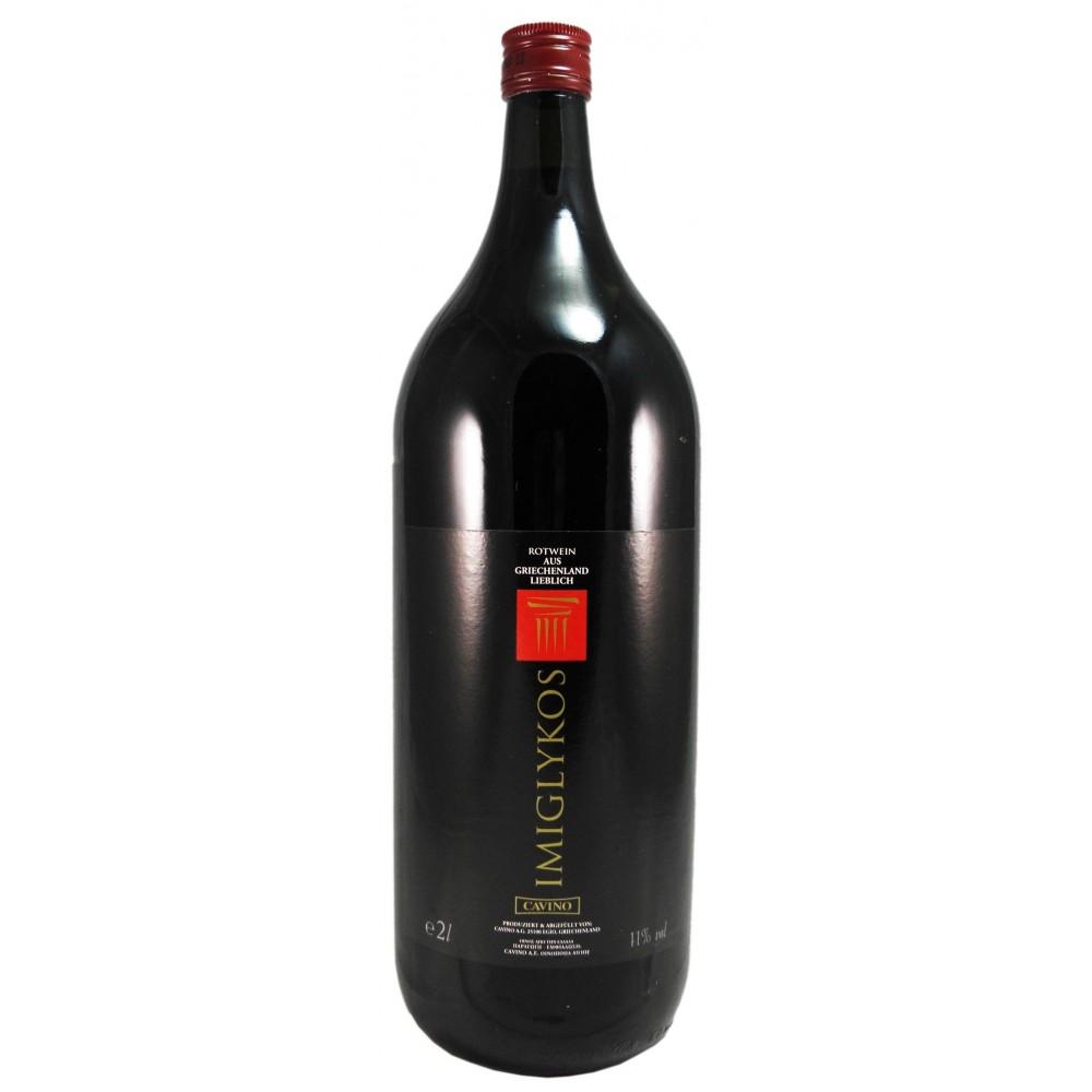 2946 Cavino  Cavino Imiglikos Rotwein 2 Liter