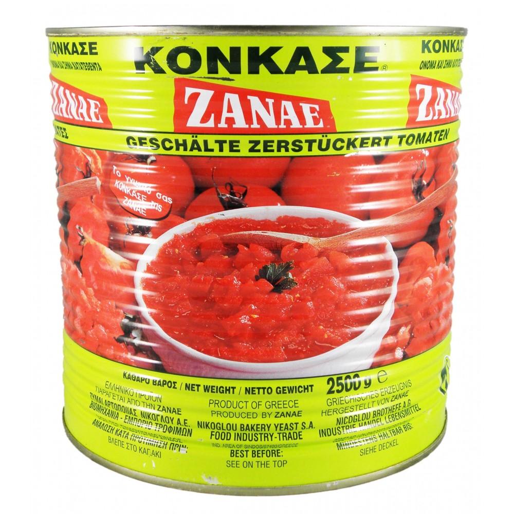 1045 ZANAE  Tomatenstücke - Concasse