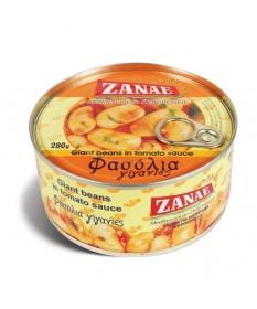 1026 ZANAE  Weiße Riesenbohnen in Tomatensoße ZANAE 280g