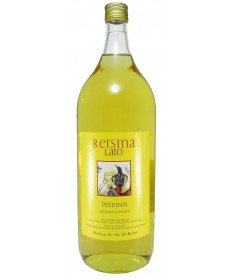 1414 Michalakis Estate  Retsina Lato 2 Liter