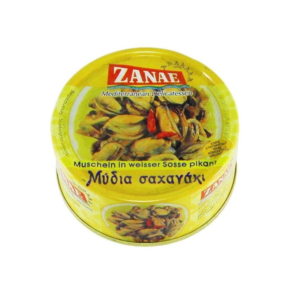 1270 ZANAE  Muscheln in weißer Soße pikant ZANAE 160g