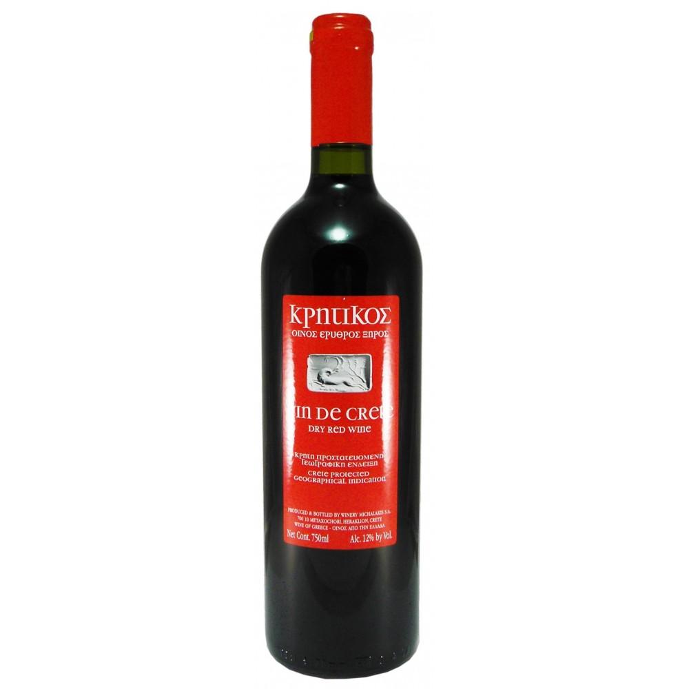 1474 Michalakis Estate  Vin De Crete (Kritikos) Rotwein 0,75 Liter