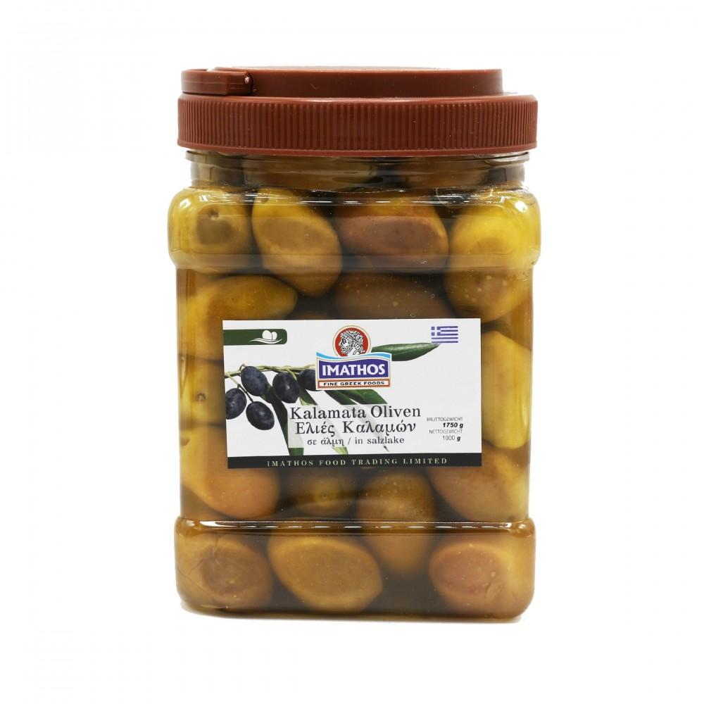 5110 IMATHOS  Grüne Kalamata Oliven in Salzlake
