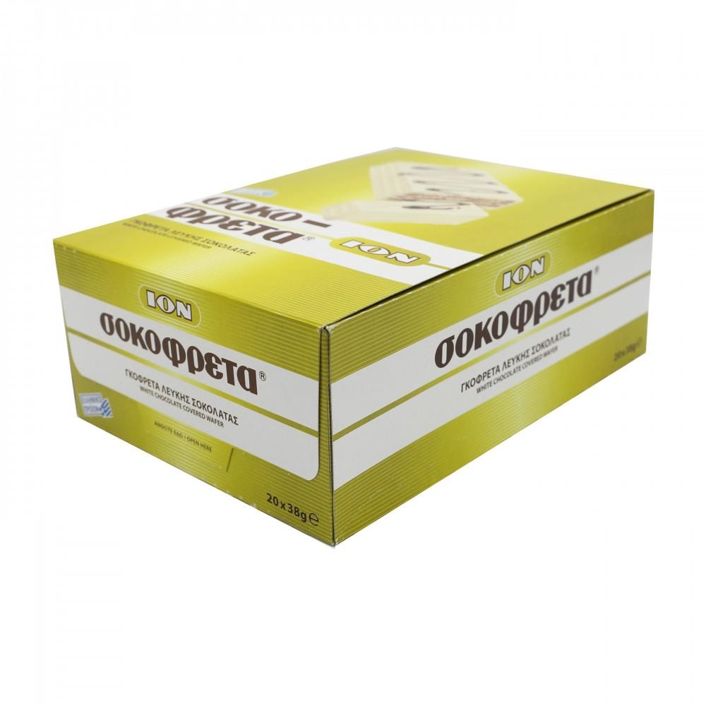 4694_v ION  Schokofreta Schokowaffel mit weisser Schokolade (Vorratspackung)