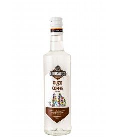 5120 Loukatos Bros Co.  Ouzo Loukatos Coffee 38% 0,2L