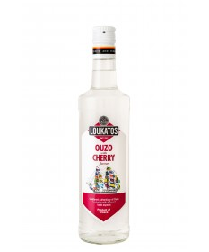 4858 Loukatos Bros Co.  Ouzo Loukatos Cherry 38% 0,2L