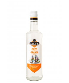 4856 Loukatos Bros Co.  Ouzo Loukatos Orange 43% 0,2L