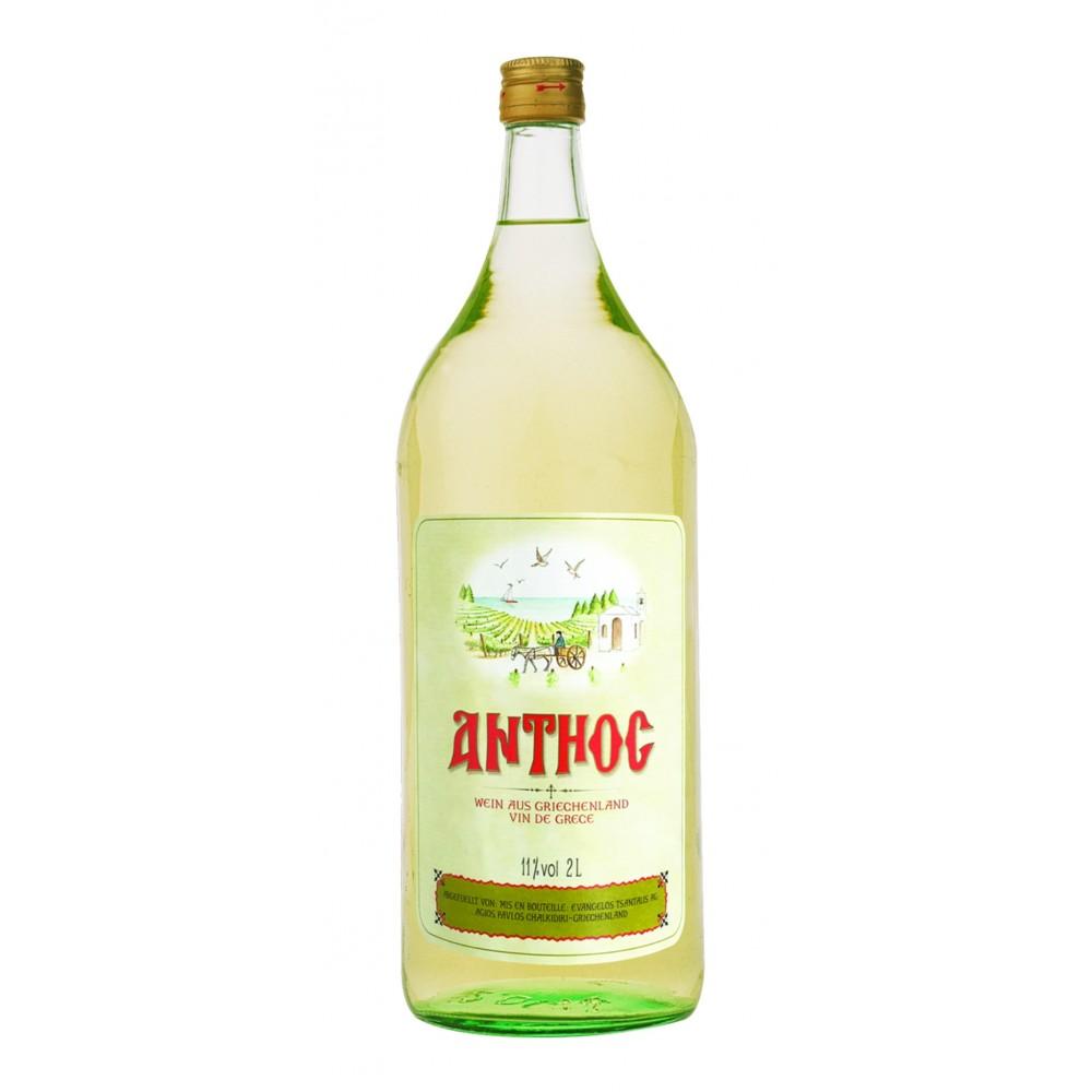 1003 Tsantali  Anthos Weißwein 2 Liter