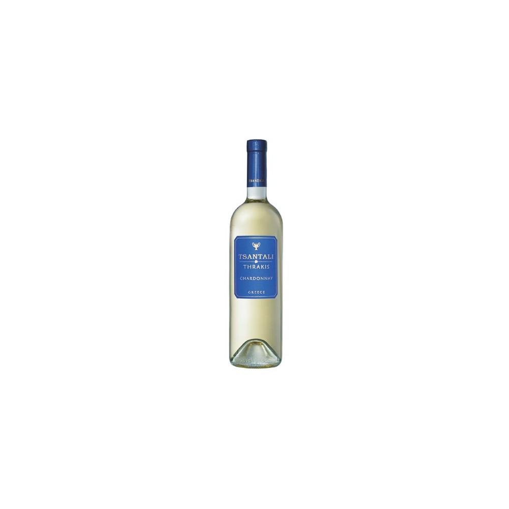 1224 Tsantali  Chardonnay Thrakis 0,75 Liter