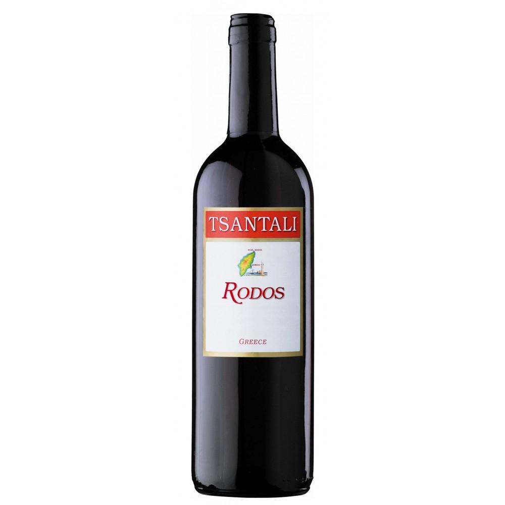 1386 Tsantali  Rodos Rotwein 0,75 Liter