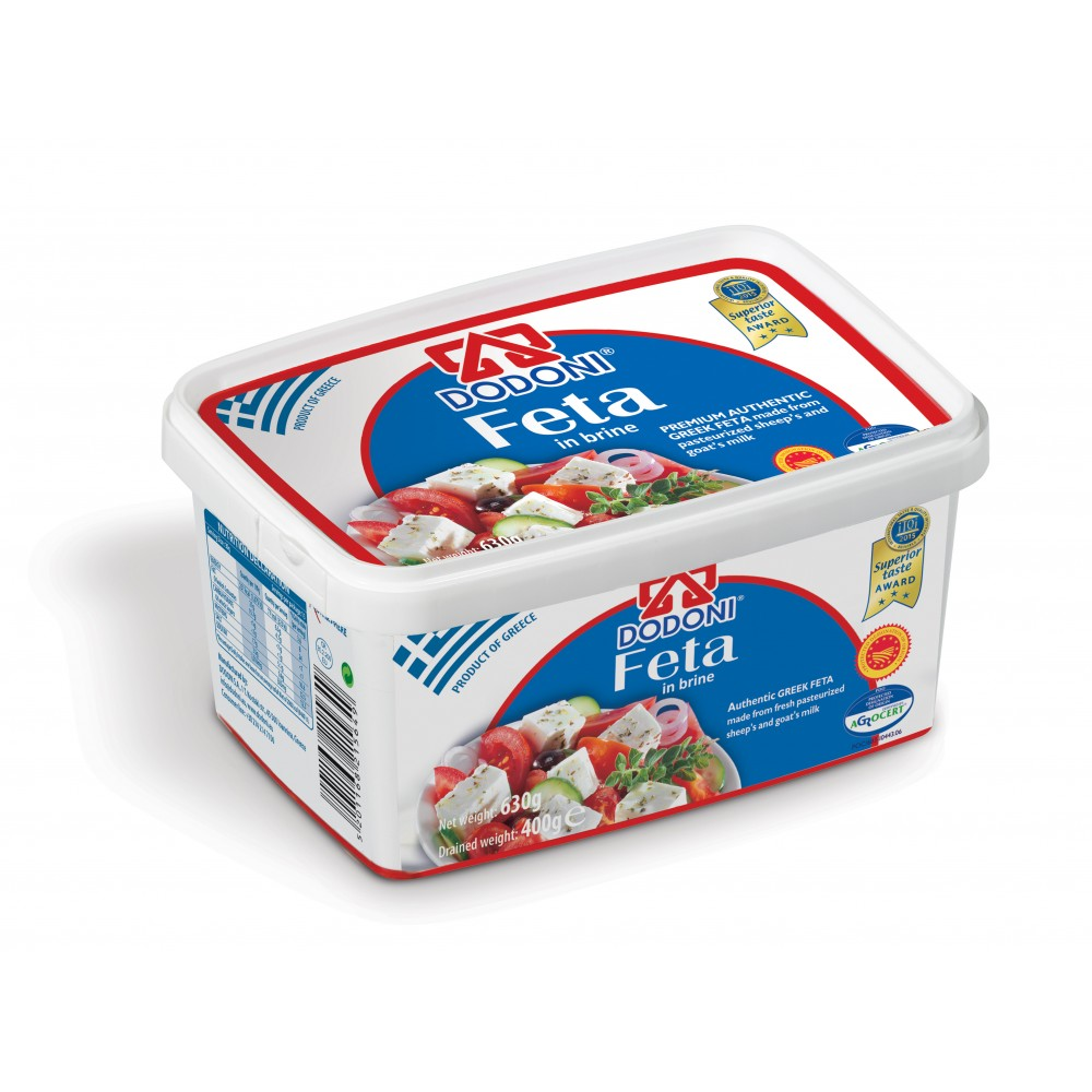 1500 Dodoni A.G.  Feta Käse in Lake 400gr