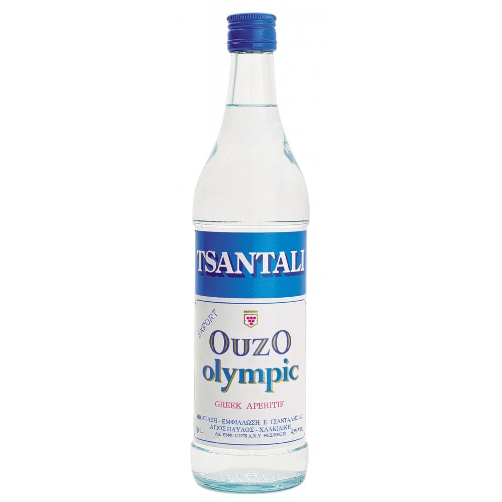 1322 Tsantali  Ouzo Olympic 40% 0,7 Liter