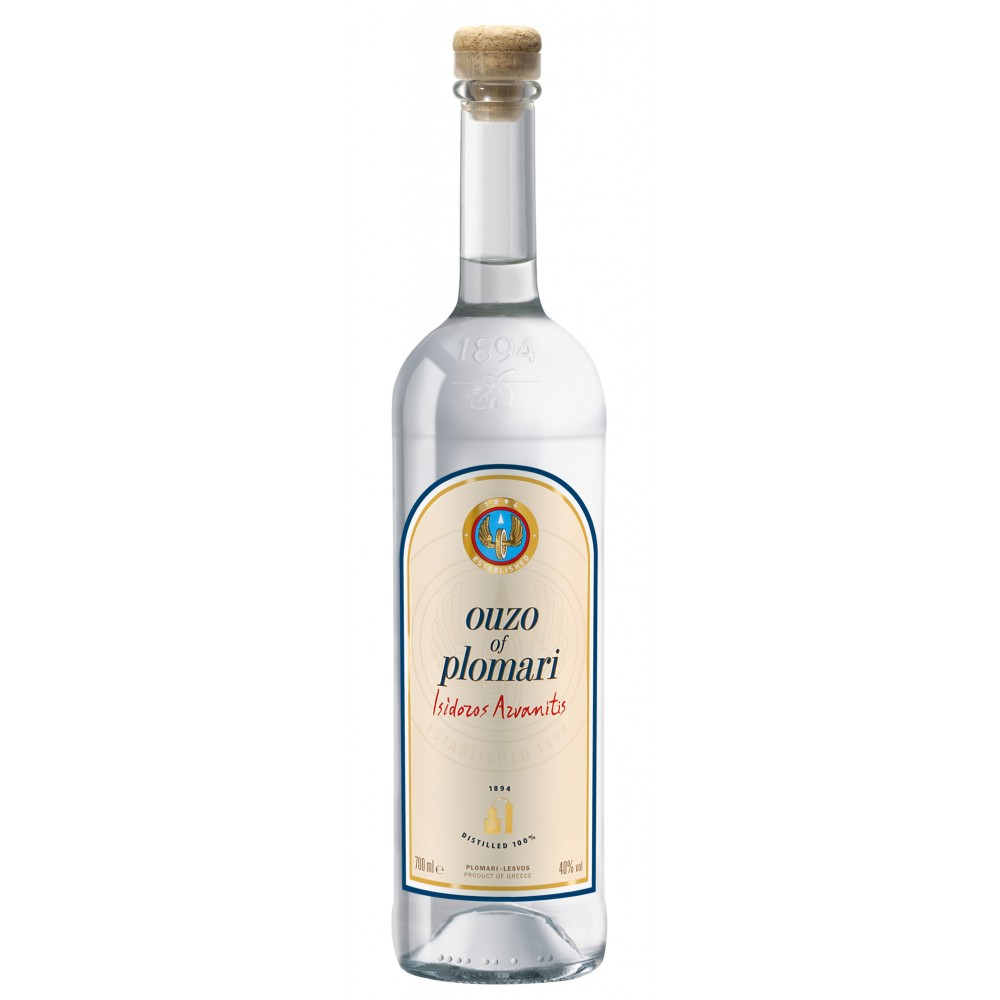 1336 Isidoros Arvanitis (Plomari)  Ouzo Plomari 40% 0,7L