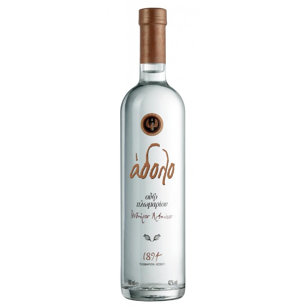 2714 Isidoros Arvanitis (Plomari)  Ouzo Adolo 42% 0,7 Liter
