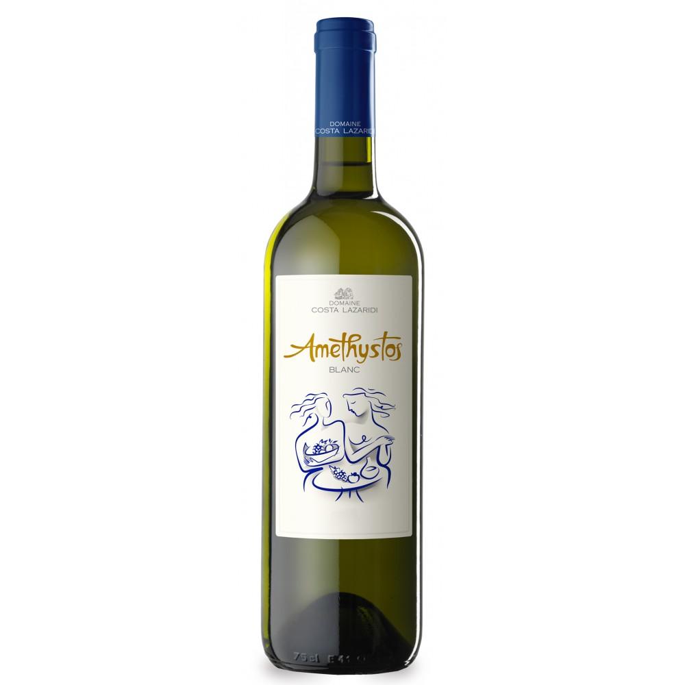 1019 Domaine Costa Lazaridi  Amethystos (Blanc) Weißwein 0,75 Liter