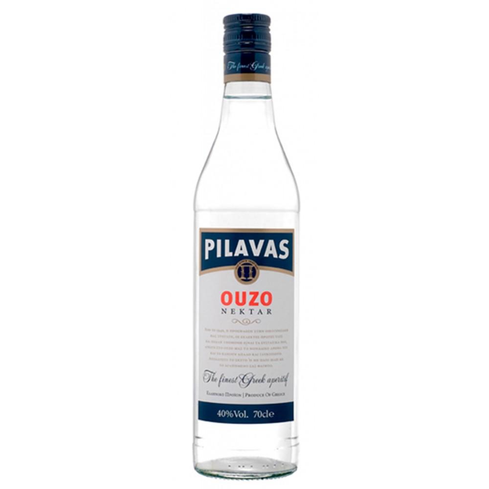 1346 Pilavas  Ouzo Pilavas Nektar 38% 0,7 Liter
