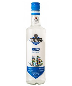 1208 Loukatos Bros Co.  Ouzo Loukatos 38% 0,7L