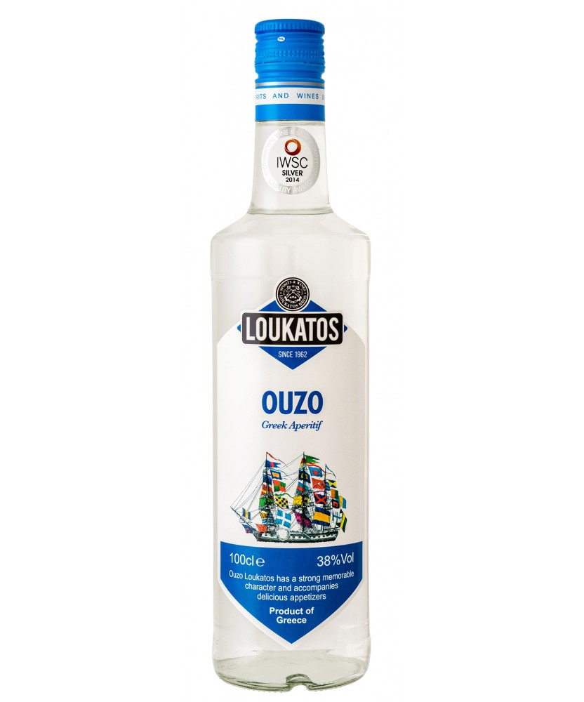1208 Loukatos Bros Co.  Ouzo Loukatos 38% 0,7L