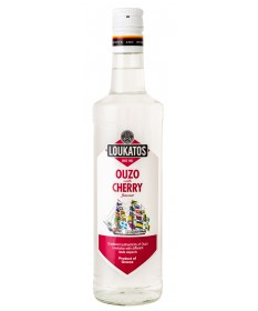 5125 Loukatos Bros Co.  Ouzo Loukatos Cherry 38% 0,7L
