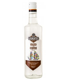 5127 Loukatos Bros Co.  Ouzo Loukatos Coffee 38% 0,7L