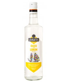 5123 Loukatos Bros Co.  Ouzo Loukatos Lemon 43% 0,7L