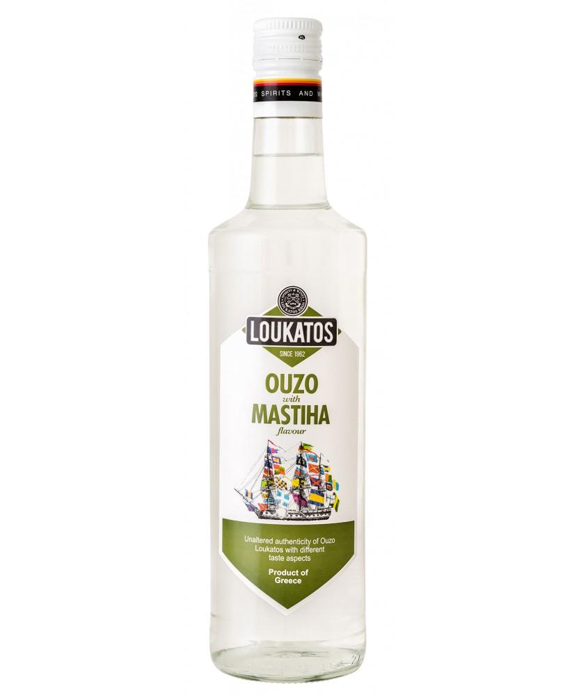 5126 Loukatos Bros Co.  Ouzo Loukatos Mastiha 38% 0,7L