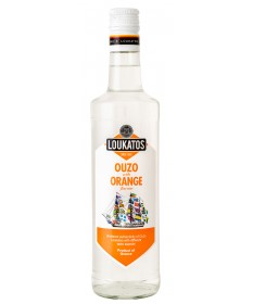 5124 Loukatos Bros Co.  Ouzo Loukatos Orange 43% 0,7L