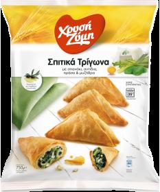 """2877 Chrisi Zimi  \\""""Spitika Trigona\\"""" mit Spinat, Lauch & Mizithra-Käse 750gr"""