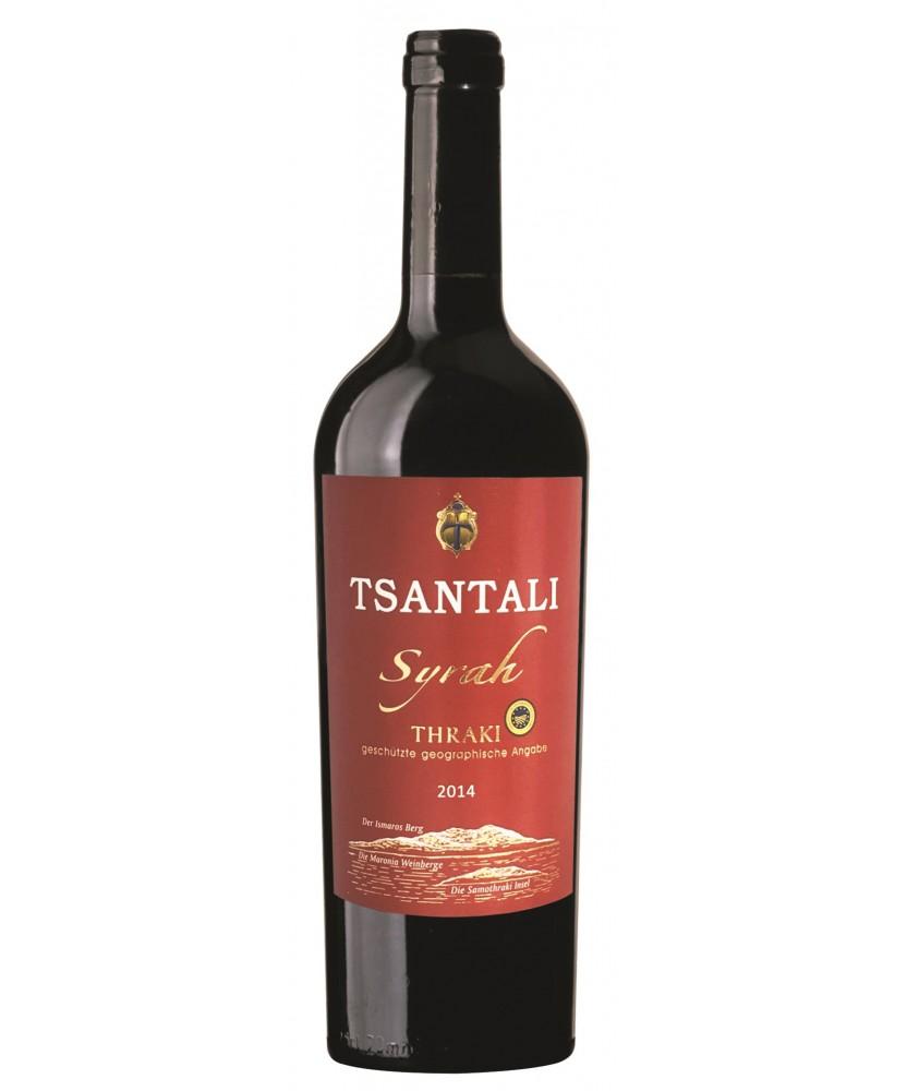 1345 Tsantali  Syrah Thraki 0,75 Liter