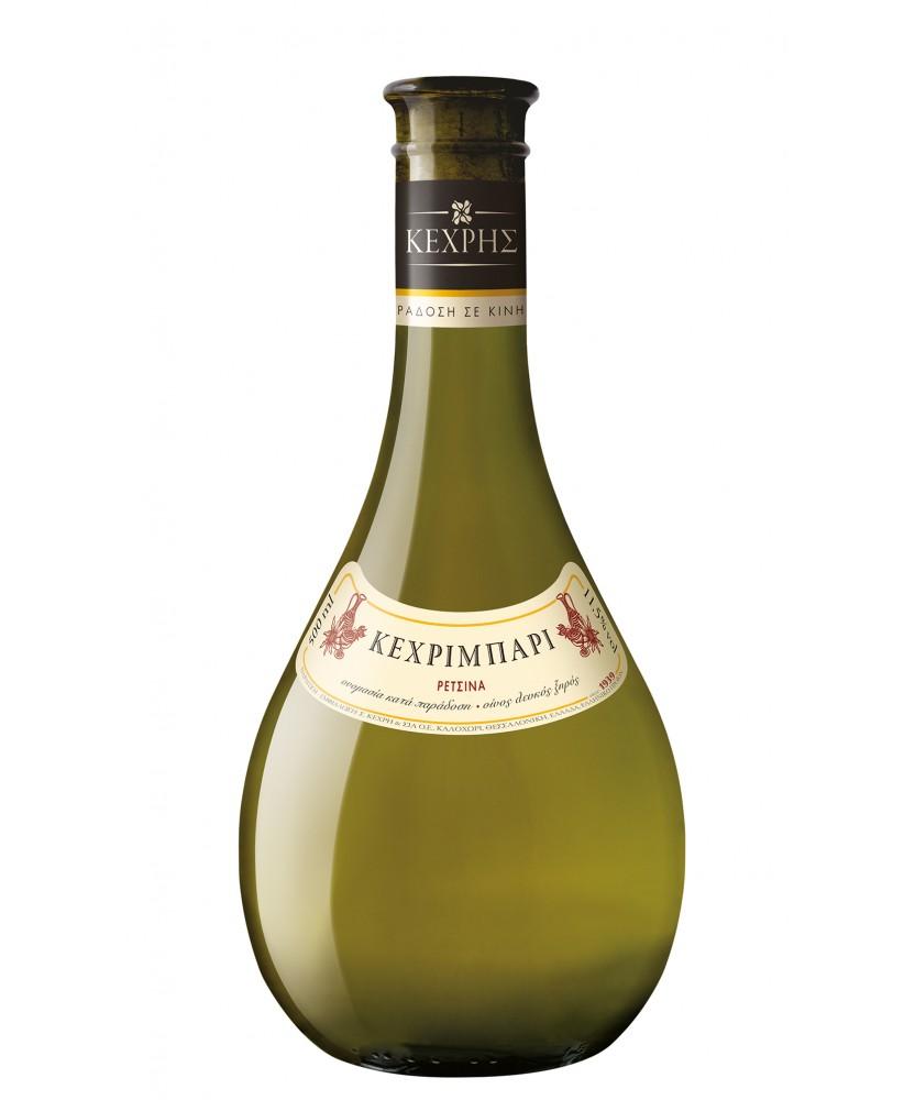 1175 Kechri Winery  Retsina Kechribari 0,5 Liter
