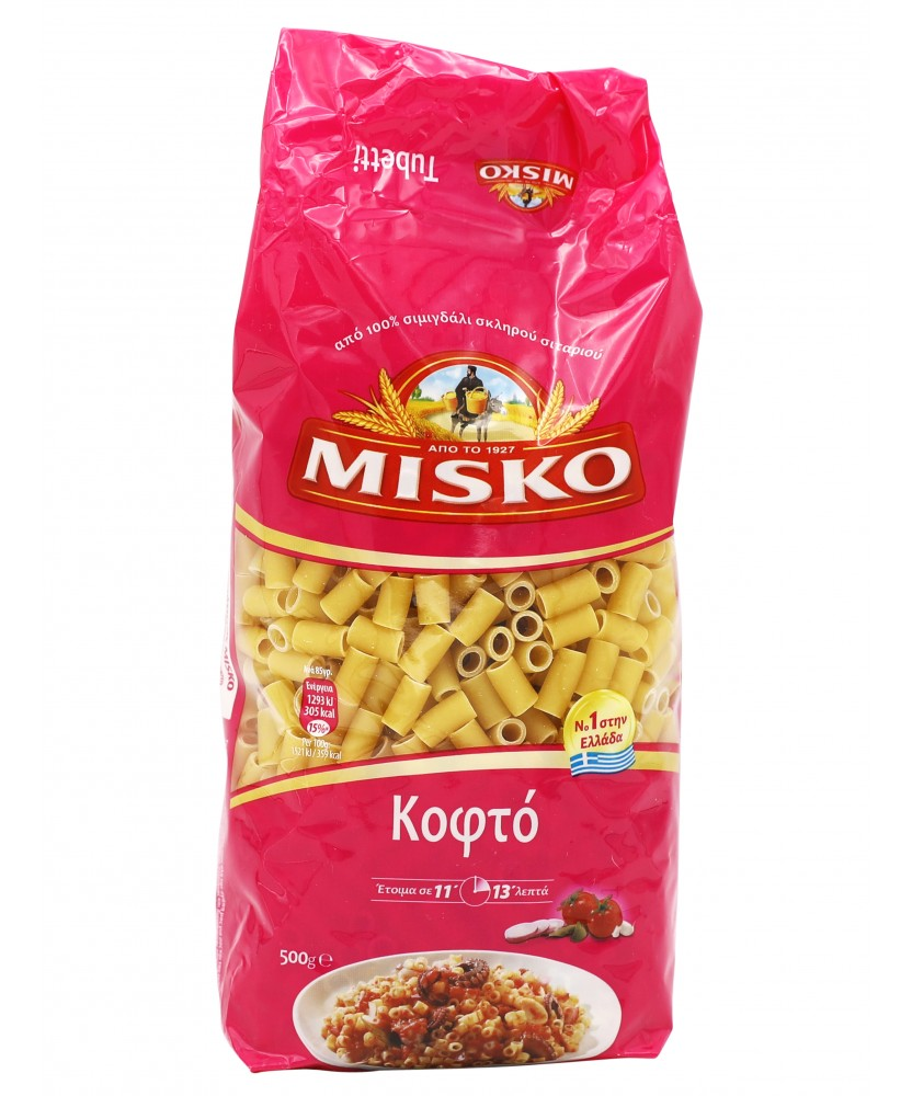 3946 Misko  Tubetti Nudeln (Kofto) Misko