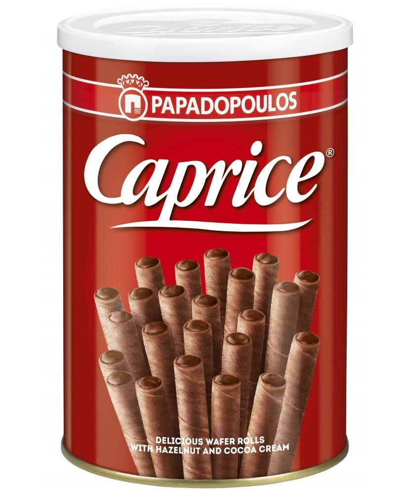 2609 Papadopoulos S.A.  Caprice Waffelröllchen 400g