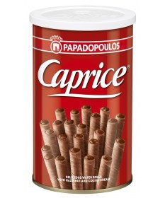 2608 Papadopoulos S.A.  Caprice Waffelröllchen 250g