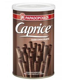 3955 Papadopoulos S.A.  Caprice Waffelröllchen mit dunkler Schokolade 250g