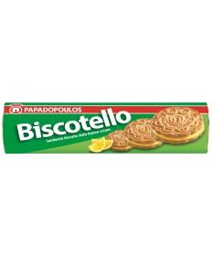 4103 Papadopoulos S.A.  Biscotello Doppelkeks mit Zitronencremefüllung