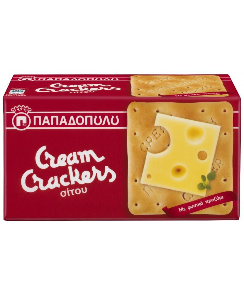 2616 Papadopoulos S.A.  Cream Crackers Weizen 140g