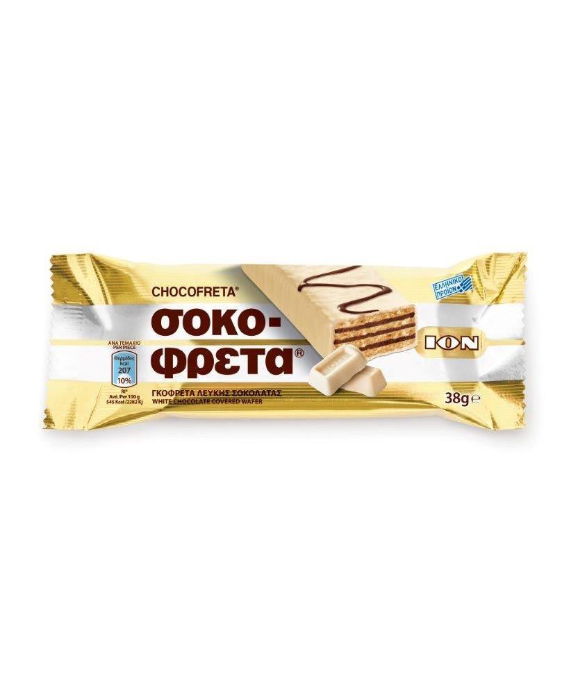 4694 ION  Schokofreta Schokowaffel mit weisser Schokolade
