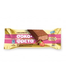 4874 ION  Schokofreta Schokowaffel mit Erdbeercreme